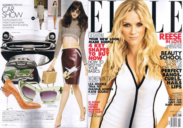 60 best things i make images on pinterest slipper chairs for Elle magazine this month