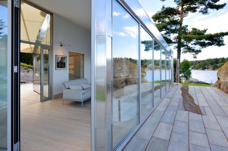 #architecture : The Aluminum Cabin by Jarmund Vigsnæs AS Arkitekter MNAL © Nils Petter Dale