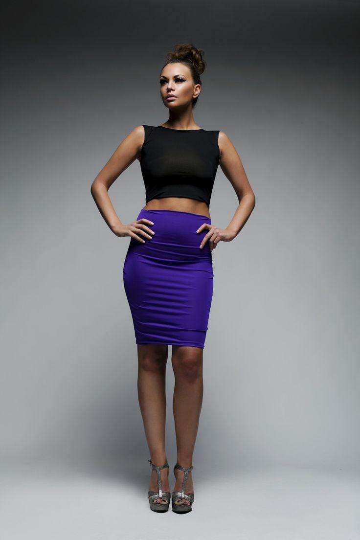 Alice's Boutique :: Lycra Bodycon Skirt
