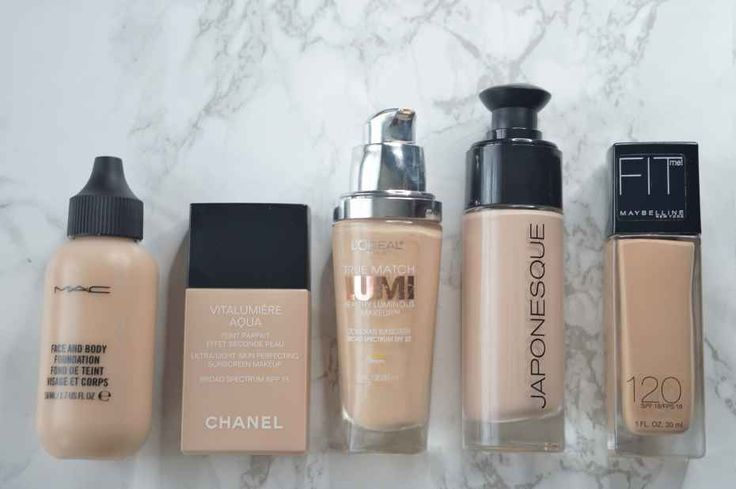 27 best Makeup Drugstore Foundations for Dry & Mature Skin ...