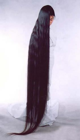 floor length hair - Google Search