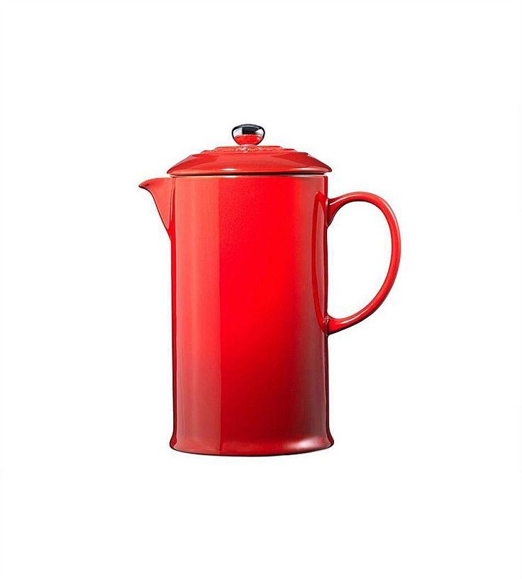Appliances - Le Creuset French Coffee Press Cerise
