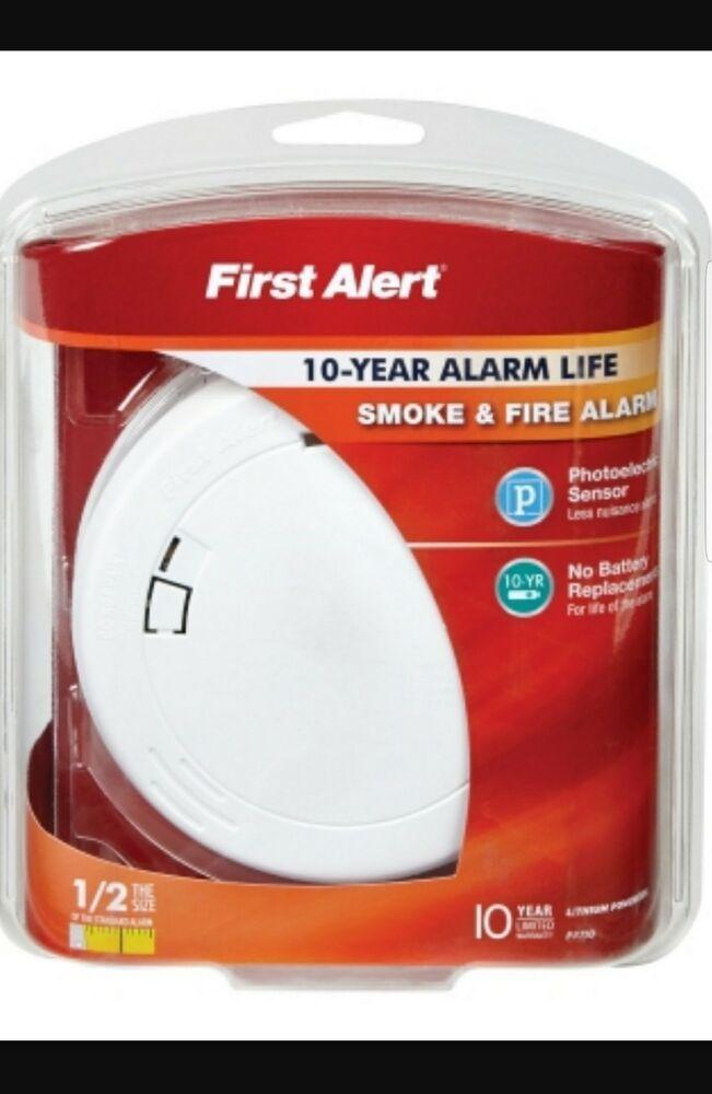 Smoke Alarm Smoke Alarm Ideas Smokealarm Firealarm First Alert Photoelectric Smoke Detector Alarm 10 Year Yr Battery Fire Alarm Smoke Alarms Smoke Detector