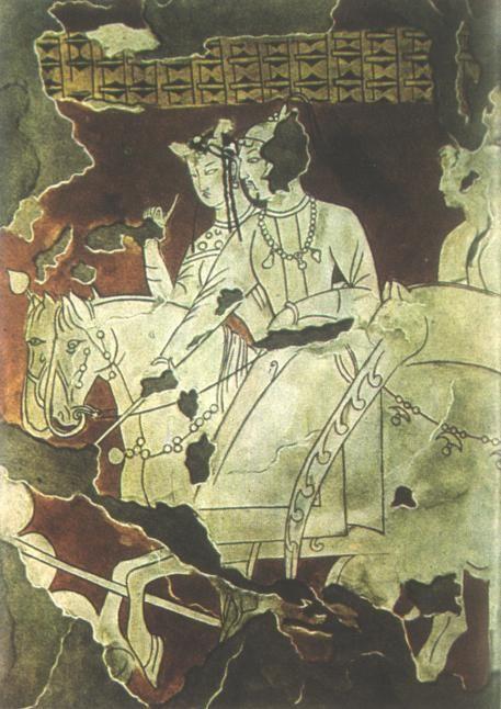 Horsemen, Soghdian Murals at Piandjikent
