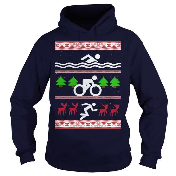 UGLY CHRISTMAS TRIATHLON Design Description: ugly christmas triathlonBuy now to ensure timely delivery to Christmas.