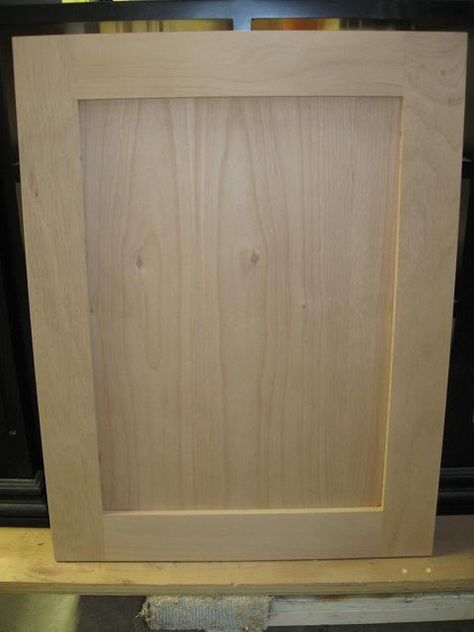 detailed shaker door tutorial