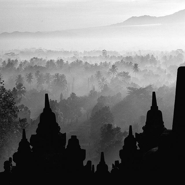 Borobudur Temple, Indonesia. Photography by Hengki Koentjoro.
