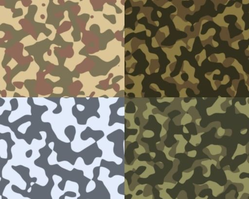 camo patterns | Camouflage pack 1 by jpbo6 – MORE INFO
