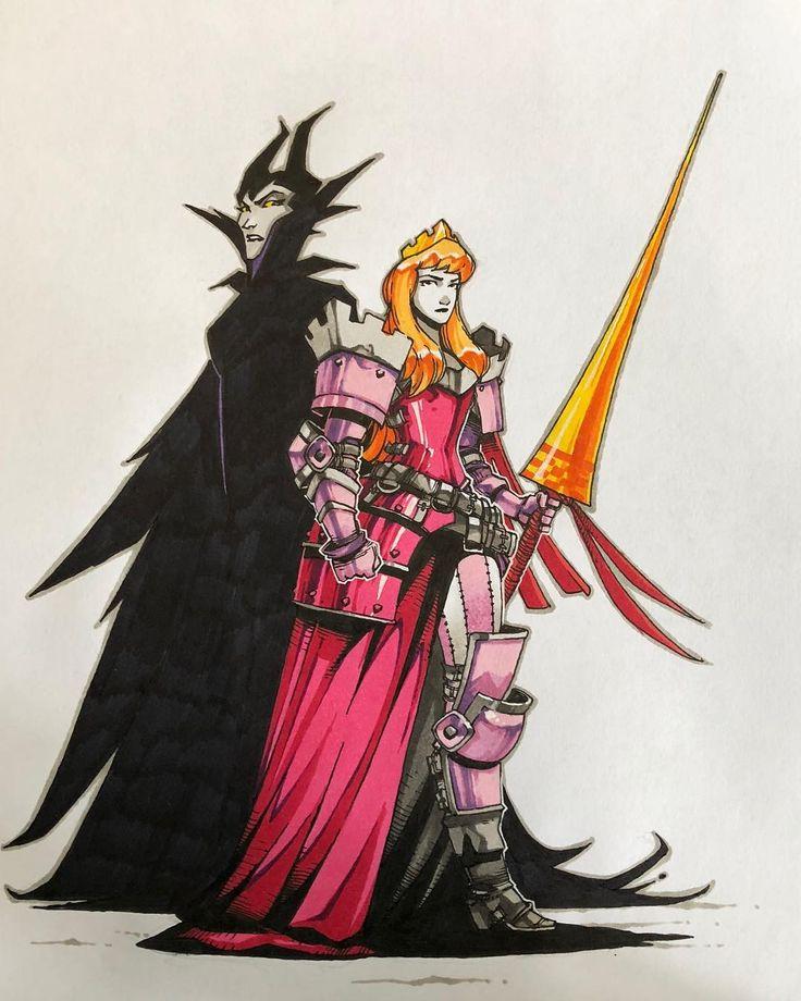 Prinzessin Aurora. So ausgestattet kann Aurora es …