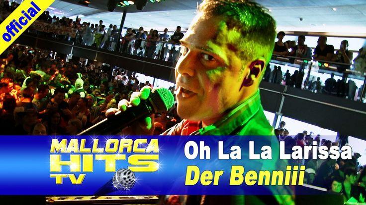 Benniii - Oh La La Larissa von den Ballermann Hits Samplern mit seinem Auftritt auf Peter Wackel´s Bierköänig Partyboot 2013 in Köln. http://MallorcaHitsTV.de
