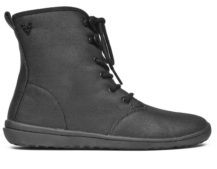 Our most popular women�۪s Winter barefoot boot, Gobi Hi Top is a versatile lace-up ankle boot. Now made from vegan materials, the Gobi Hi Top in canvas is a sturdy, casual boot designed to be worn for every day use.