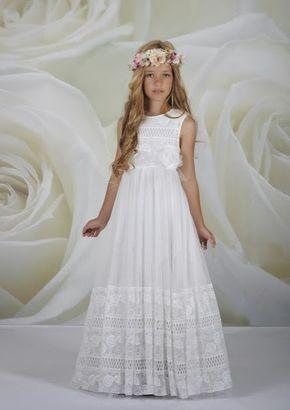 Moda Adolescentes y Niños Elegancia Estilo: Vestidos de Primera Comunion -Colec…
