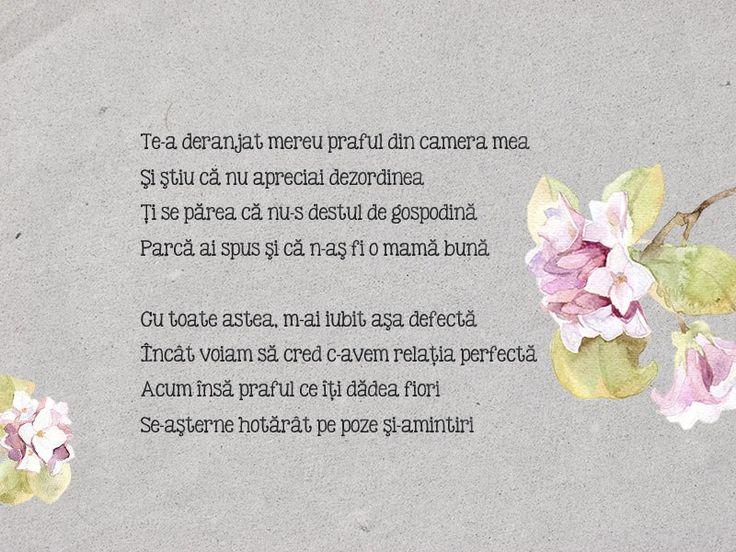 15th poem - Praful din camera mea