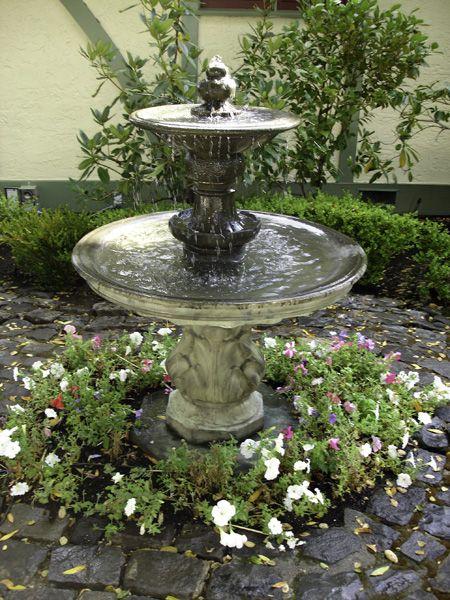 fountain garden pictures | Exalted Fountains | Lighting Garden Fountains