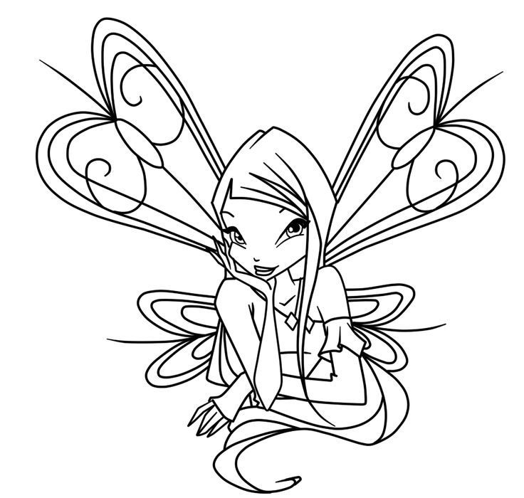 93 best Winx club images on Pinterest Winx club Coloring pages