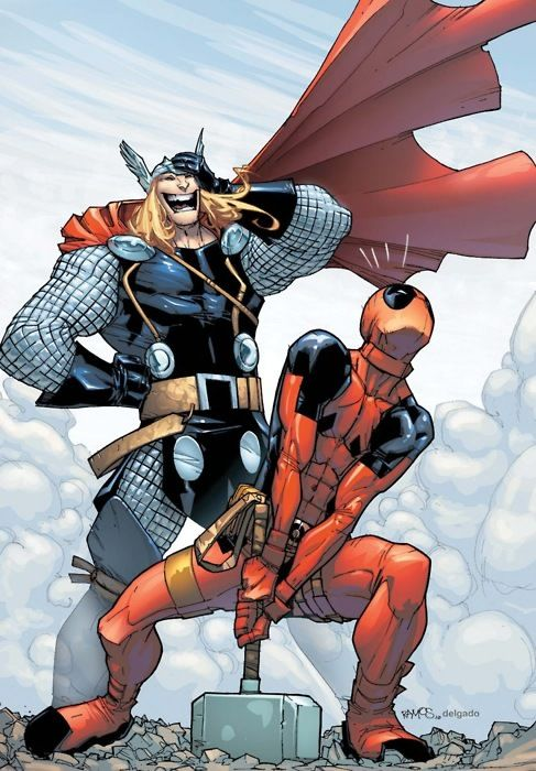 Thor and Deadpool....yes another deadpool