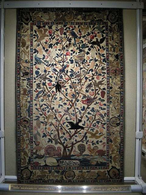 Tree of Life, Carpet Museum, Tehran by simon_white, via Flickr - This is a link to a great set pictures taken in Iran in 2007, including Persepolis.  Mostly architecture