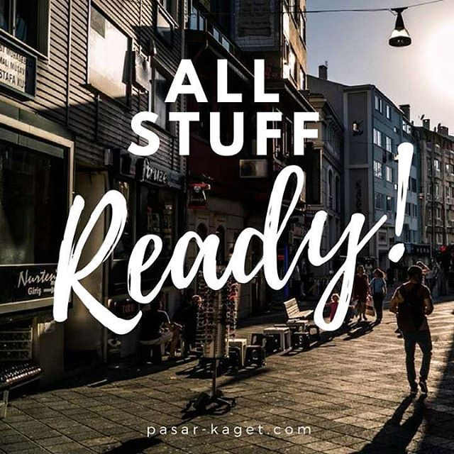 """All Stuff Ready"" Barang-barang unik yang mungkin kamu cari ada di buff.ly/2gjjINc . . . #jarvisstore #buattokoonline #ecommerce #entrepreneur #bisnisonline #pengusaha #onlinestore #onlineshop #quoteoftheday #businessquotes"