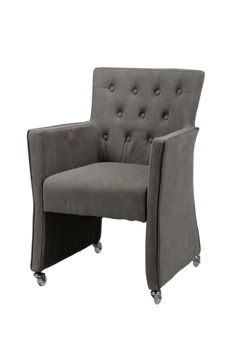25 beste idee n over stoel wieltjes op pinterest stoel for Eetkamerfauteuil op wieltjes