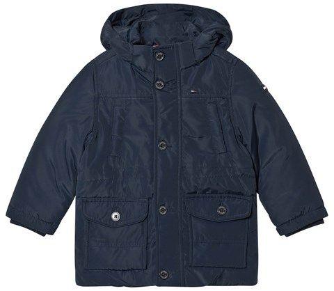 Tommy Hilfiger Navy Parka Jacket