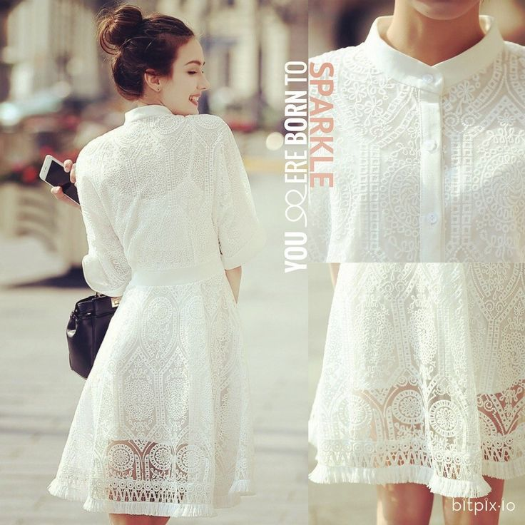 Born To Sparkle My Hollow Out Dress