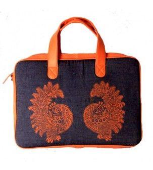 Laptop Orange Bag