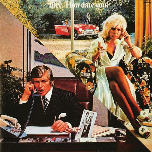 10cc - How Dare You! on Limited Edition 180g Import LP November 25 2016 Pre-order