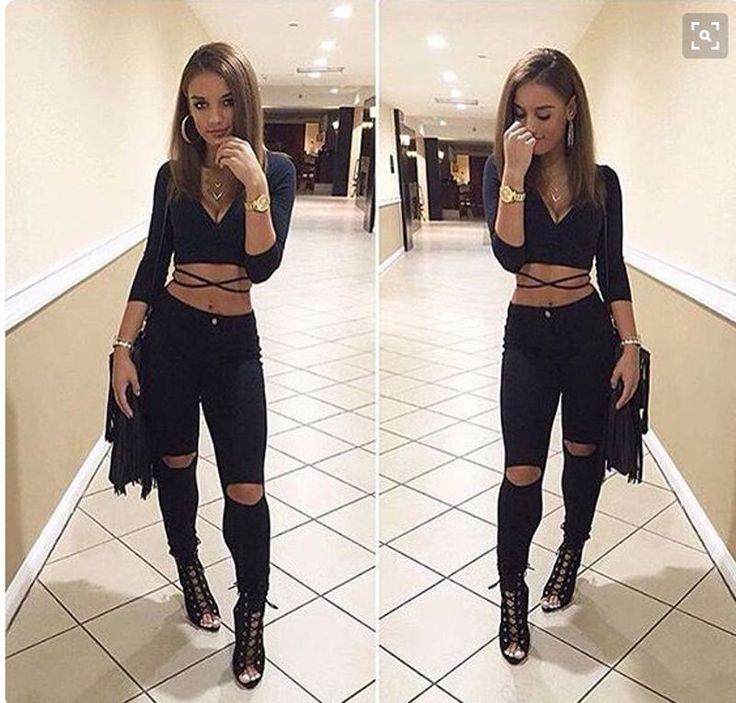 Sexy Women Long Sleeve Crop Top T shirt Clubwear Casual Blouse Slim Cropped Tops