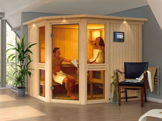 Finse sauna.