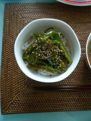 タモリさんのピーマン丼 レシピ・作り方