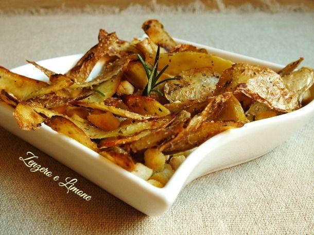 Bucce di patate croccanti