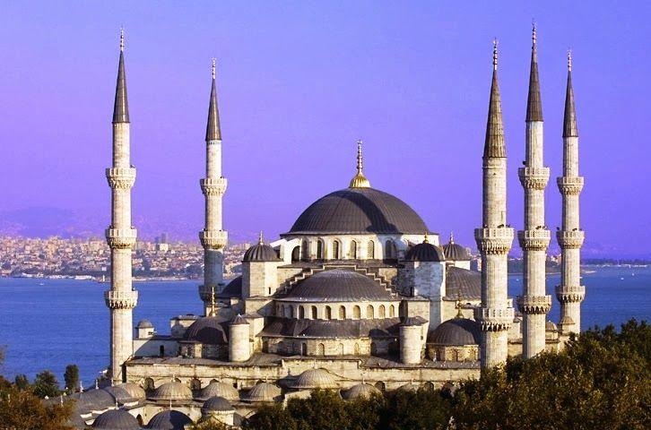 Mesquita Azul em Istambul Turquia uma das melhores viagens que fiz