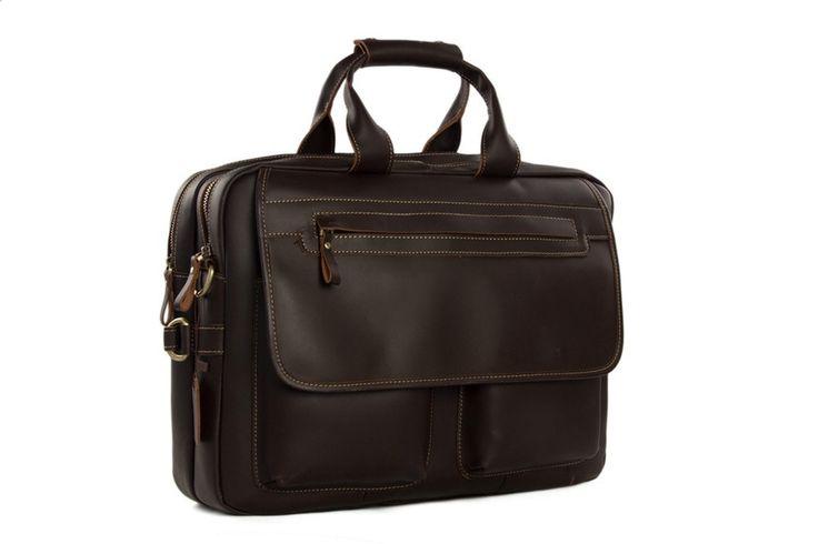 "Now trending: Handmade 15"" Top Grain Real Leather Travel Bag Crossbody Bag Men Women Business Briefcase, Messeng...  https://www.etsy.com/listing/464038247/handmade-15-top-grain-real-leather?utm_campaign=crowdfire&utm_content=crowdfire&utm_medium=social&utm_source=pinterest"