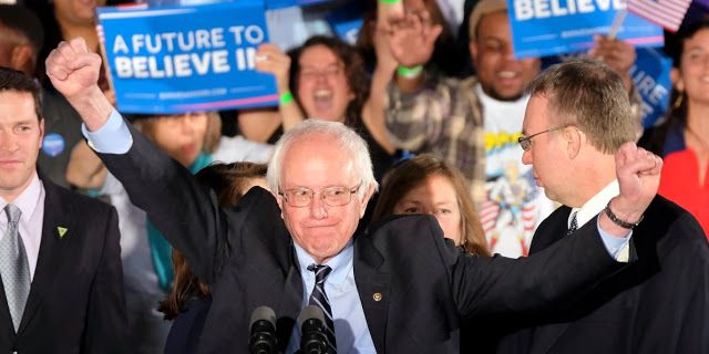 Sanders defeats Clinton in Oklahoma vote   Vermont Sen. Bernie Sanders has defeated Hillary Clinton in Oklahoma's Democratic primary winning a contest that the former secretary of state had picked up eight years ago.  Sanders drew large enthusiastic crowds in two recent visits to Oklahoma City and Tulsa and both candidates made television ad buys in the Sooner State.  In 2008 Clinton won the Oklahoma presidential primary but eventually lost the nomination to Barack Obama. Former President…