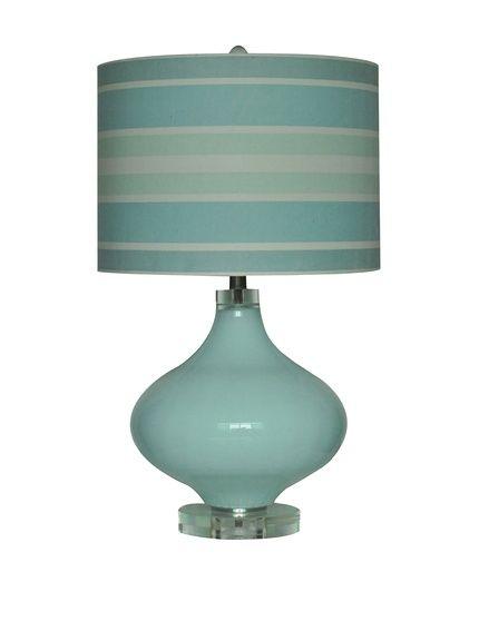 Ocean Breeze Table Lamp,Powder Blue   Decor Accents and Lighting   Pinterest   Breeze, Living ...