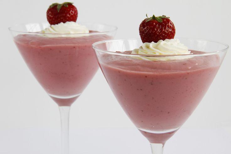 Crema de fresas - MisThermorecetas