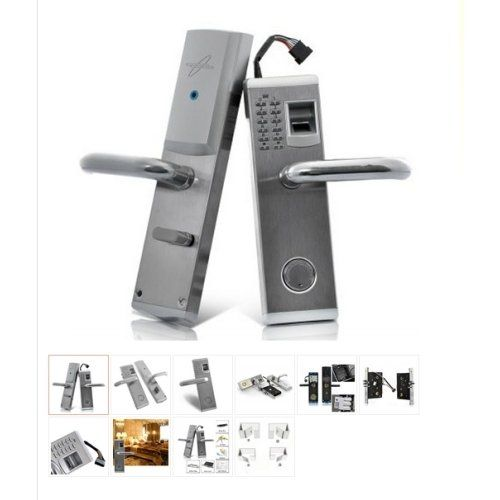 Lightinthebox GRT 2 Biometric Fingerprint and Password Door Lock Right Hand One for Business and House Security