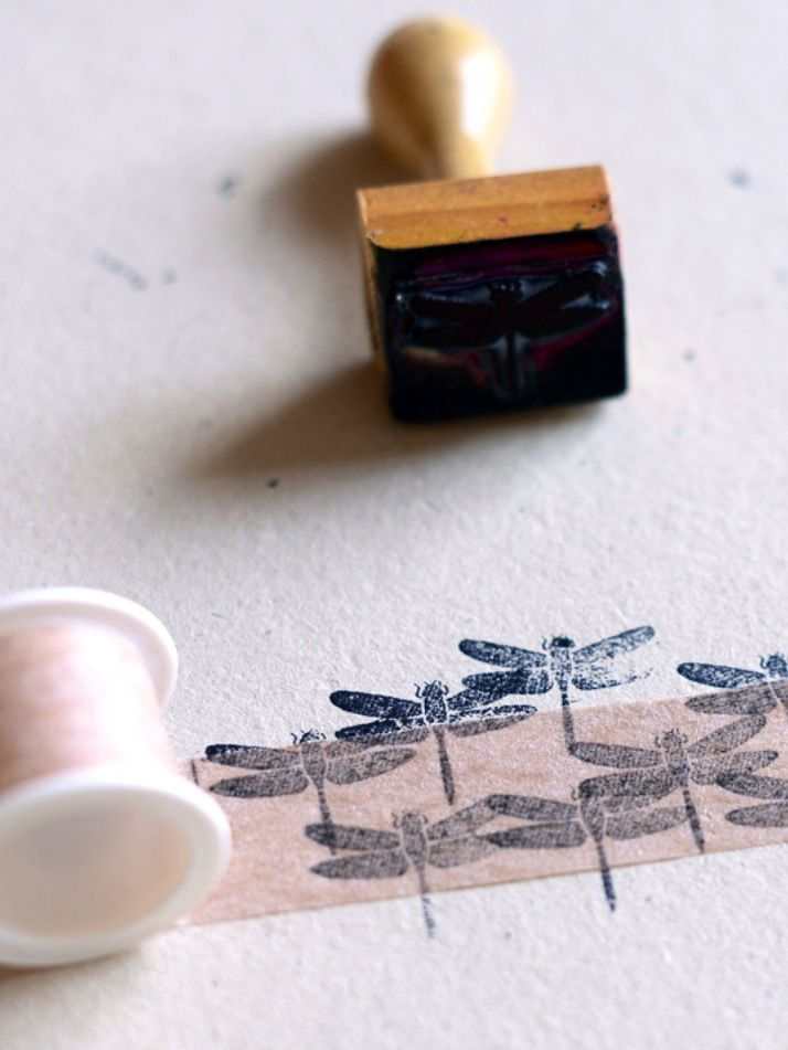 dragonfly stamp, now I'll be on a mission to find one!