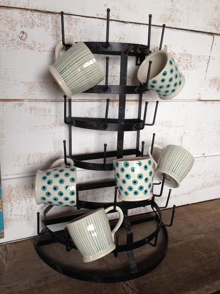 Iron Farmhouse Mug Rack  The Passionate Home - Langley