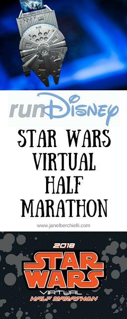 2018 runDisney offering a Star Wars Virtual Half Marathon themed race