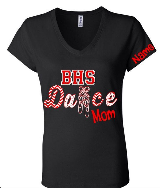 Dance Team Mom Shirt, Cheer Mom Shirt, Sister, Aunt, Grandma by KreweofDomesticus on Etsy
