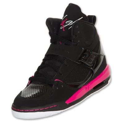 Nike Air Jordan Flight 45 High (GS) Girls Basketball Shoes 524864-017 nubuck