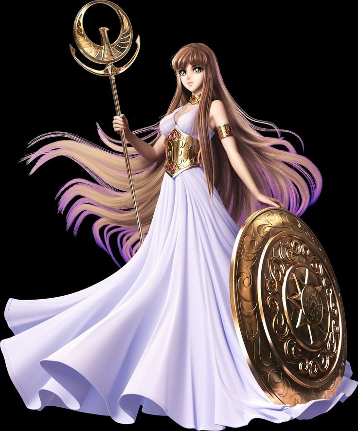 Athena by Saint Seiya Online