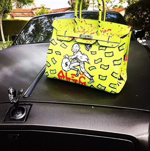 Alec Monopoly Collaboration with Hermes Birkin | And a Rolls Royce
