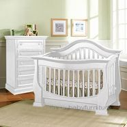 Baby Appleseed Davenport Crib in Colonial White for a