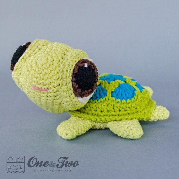 Bob the Turtle Amigurumi - PDF Crochet Pattern - Instant Download - Doll crochet…