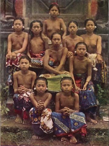 Bali children, 1920