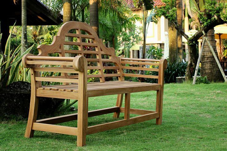 Teak Garden Furniture Bench @Abigail Phillips Regan Truax://www.forsoer.com/portfolio/fs-3002