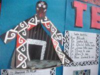 Triangle diorama whare  Te Reo study, Teacher: Lydia Chen,  New Lynn School, Auckland  http://sheenacameron.co.nz/gallery.html