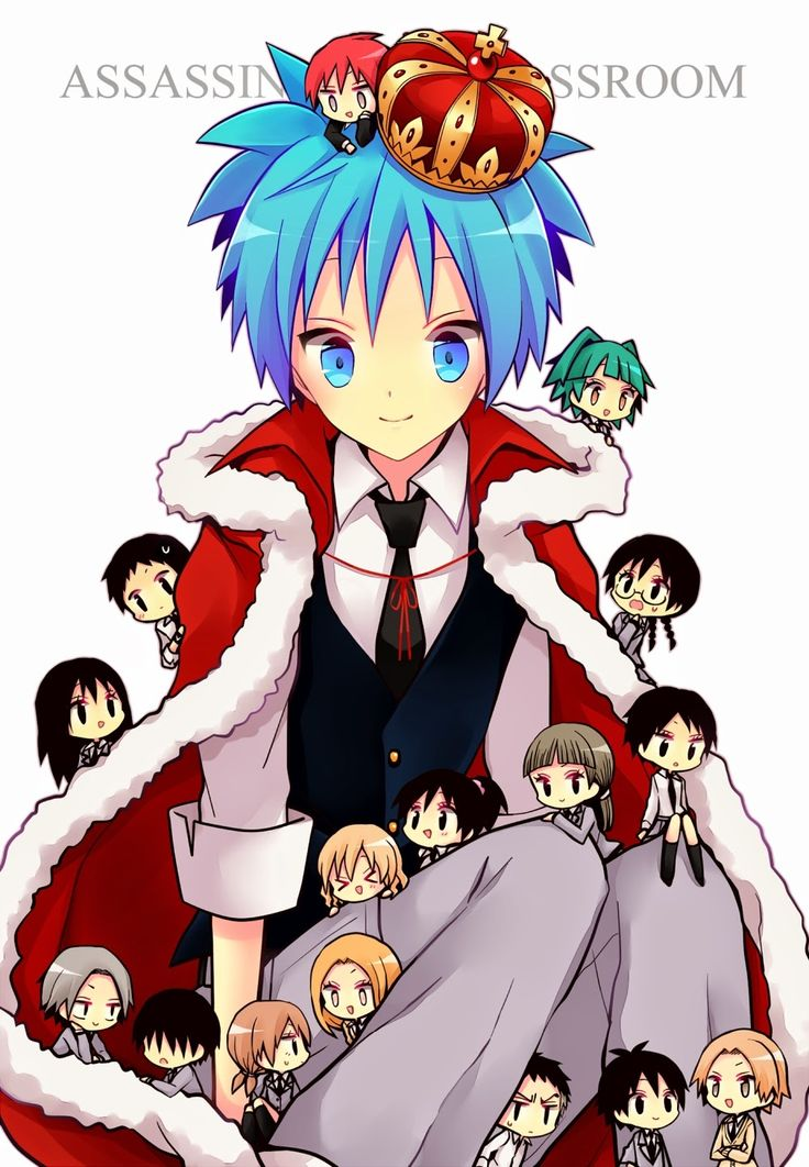The students of Assassination Classroom!